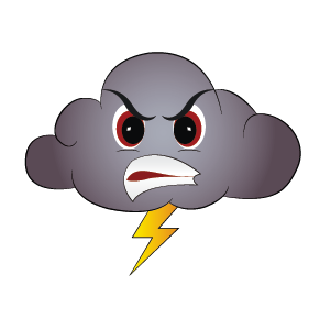 Weather Emoji messages sticker-11
