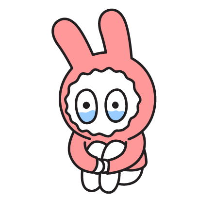 PinkRabbit messages sticker-10