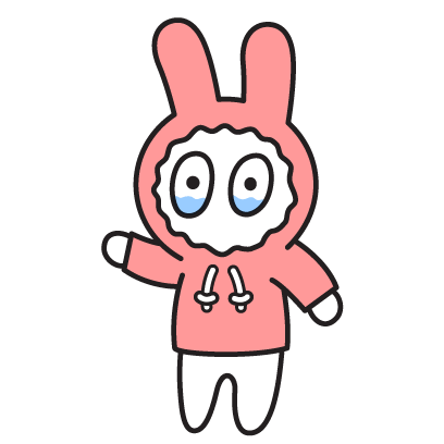 PinkRabbit messages sticker-0