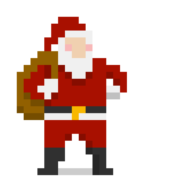 8 bit Christmas messages sticker-3