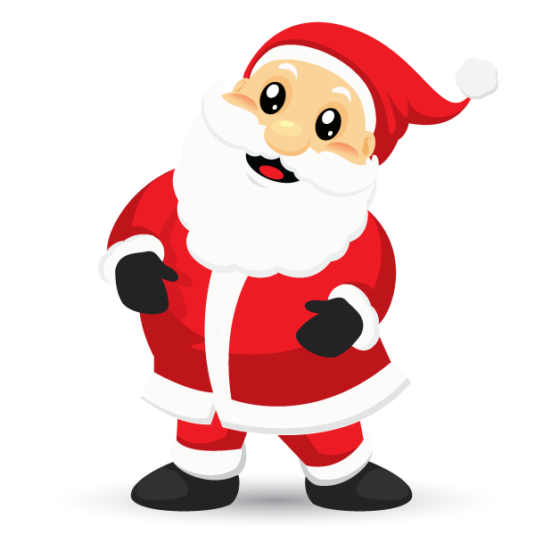 Adorable Santa messages sticker-5