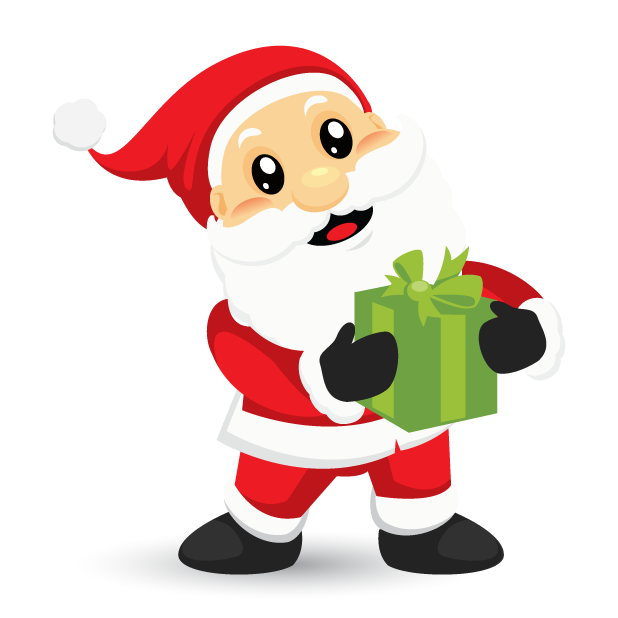 Adorable Santa messages sticker-6