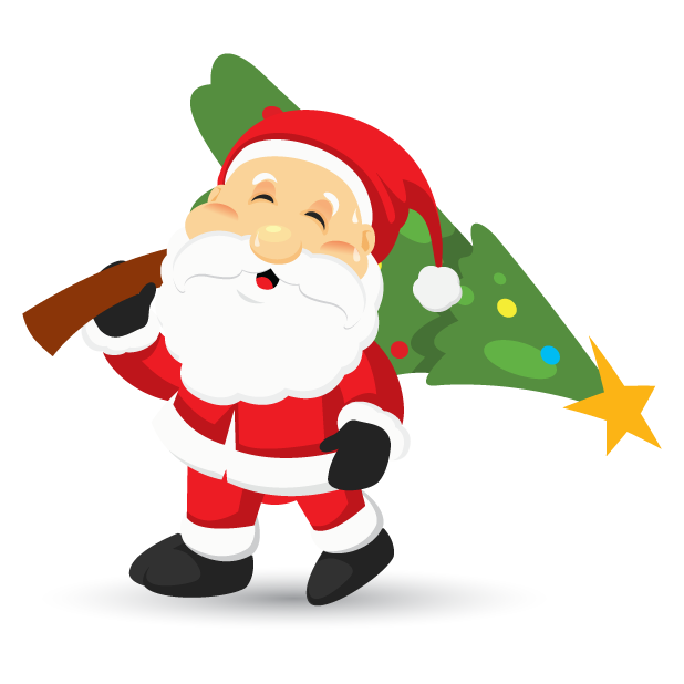 Adorable Santa messages sticker-10