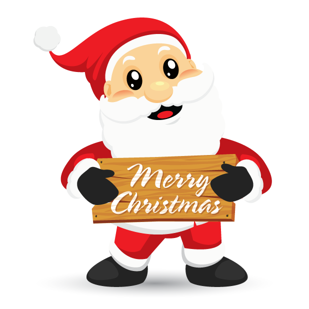 Adorable Santa messages sticker-8
