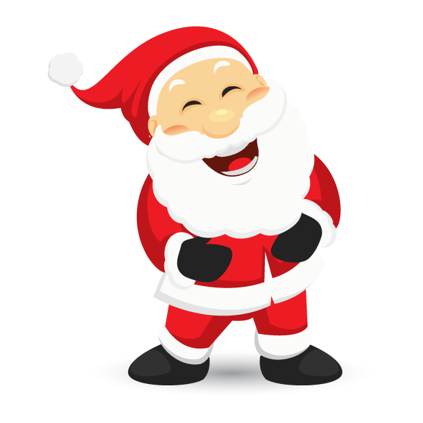 Adorable Santa messages sticker-2