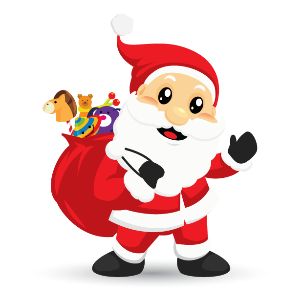 Adorable Santa messages sticker-3