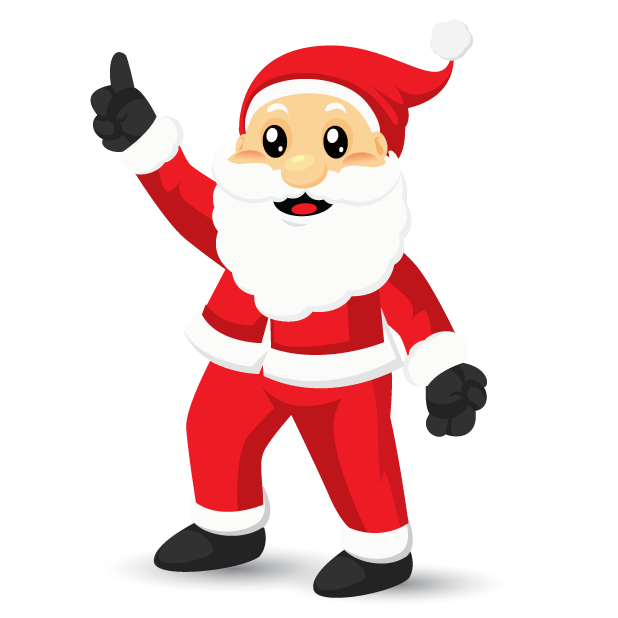 Adorable Santa messages sticker-11