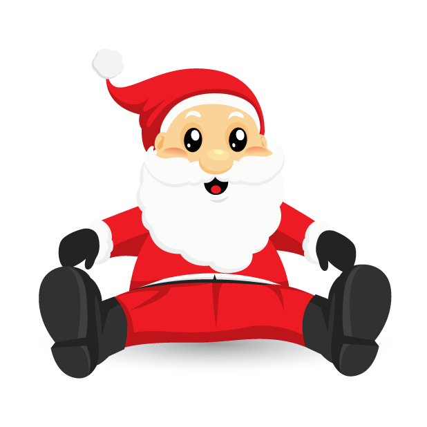 Adorable Santa messages sticker-1