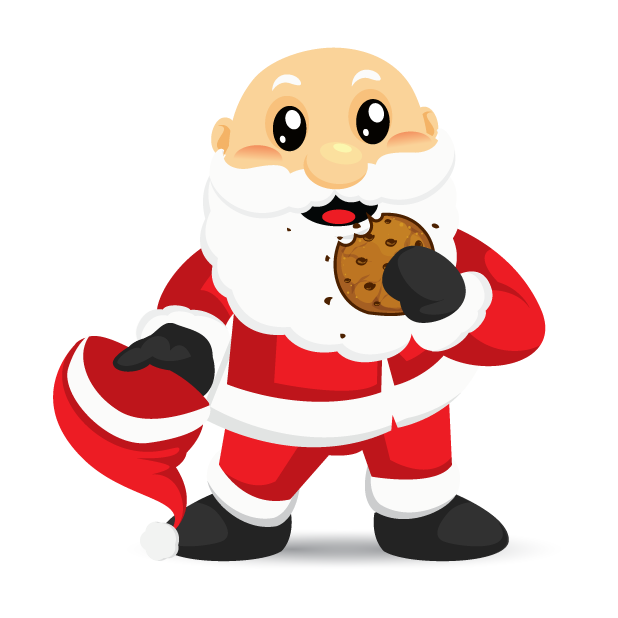 Adorable Santa messages sticker-4