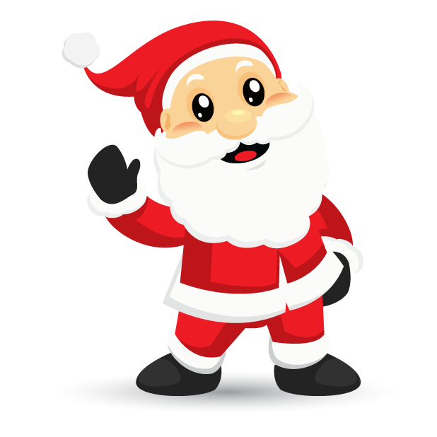 Adorable Santa messages sticker-0