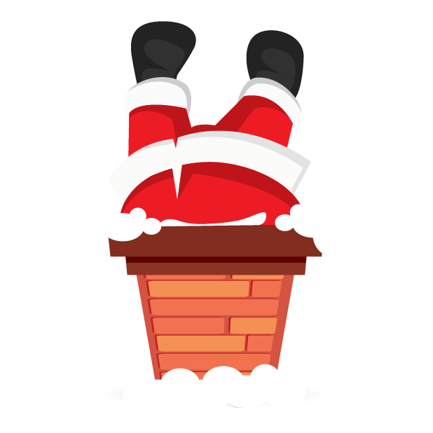 Adorable Santa messages sticker-9
