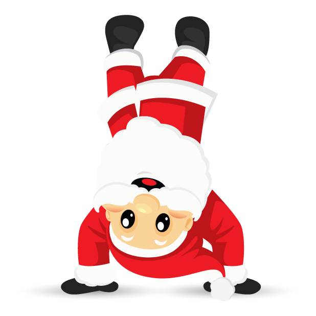 Adorable Santa messages sticker-7