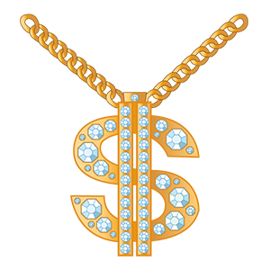 Bling Stickers for iMessage messages sticker-8
