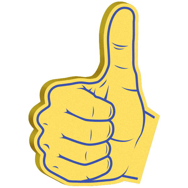 Super Cool: Foam Hands Emoji Sticker Pack messages sticker-3