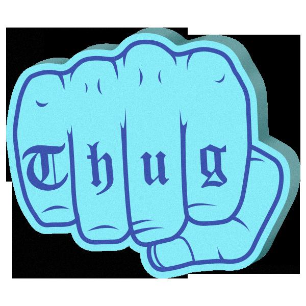 Super Cool: Foam Hands Emoji Sticker Pack messages sticker-6