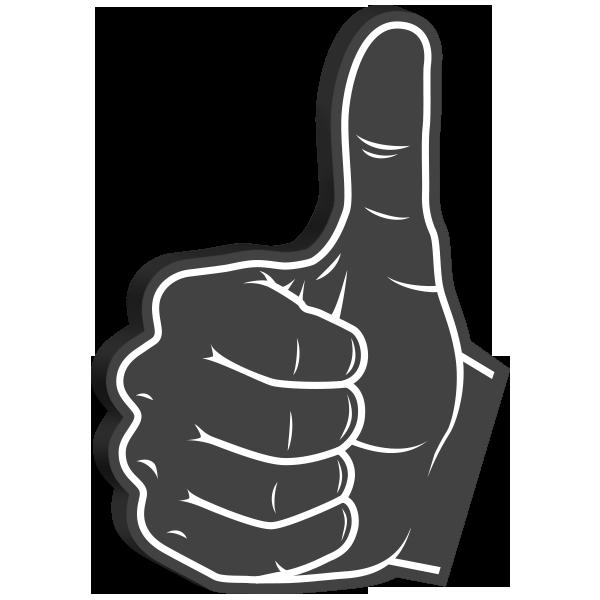 Super Cool: Foam Hands Emoji Sticker Pack messages sticker-2