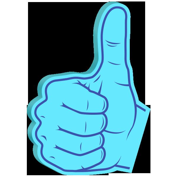 Super Cool: Foam Hands Emoji Sticker Pack messages sticker-1