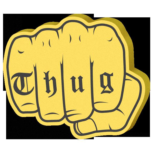 Super Cool: Foam Hands Emoji Sticker Pack messages sticker-10