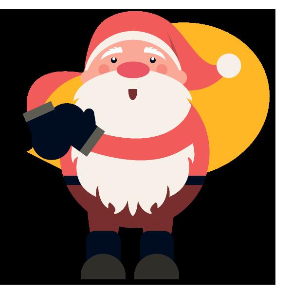 Christmas Emoji Plus messages sticker-6