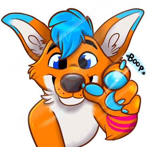Avi Fox Sticker Pack messages sticker-2