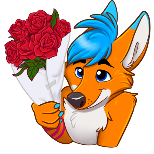 Avi Fox Sticker Pack messages sticker-9