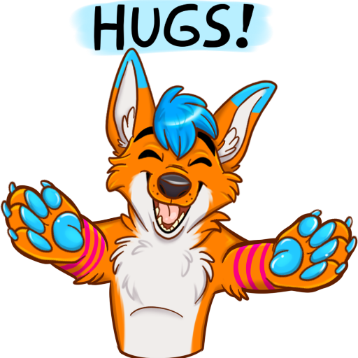 Avi Fox Sticker Pack messages sticker-3