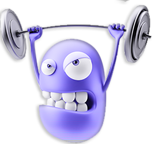 3D Workout Gym Emoji messages sticker-3