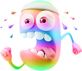 3D Spectrum Smileys messages sticker-7