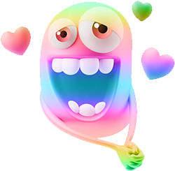 3D Spectrum Smileys messages sticker-0