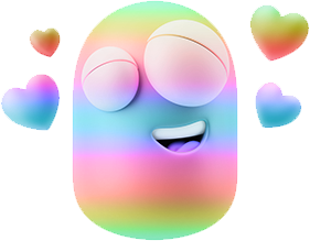 3D Spectrum Smileys messages sticker-11