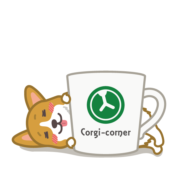 Hot dog-Corgi (English ver.) messages sticker-9