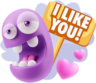 3D Love Expressions messages sticker-7