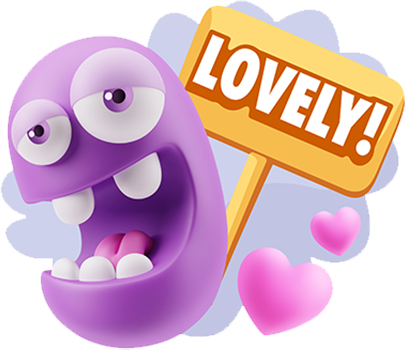 3D Love Expressions messages sticker-5