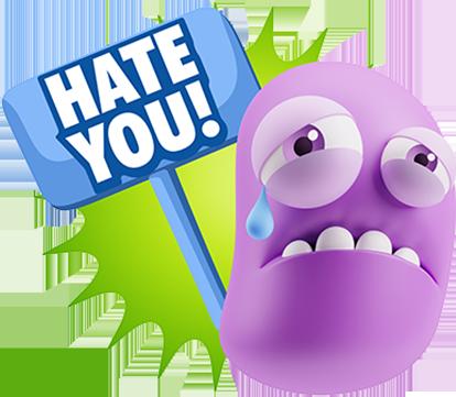 3D Sad Expressions messages sticker-8