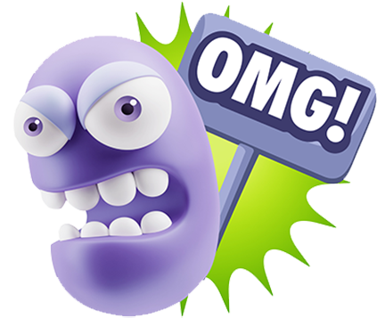 3D Bad Mood Expressions messages sticker-3