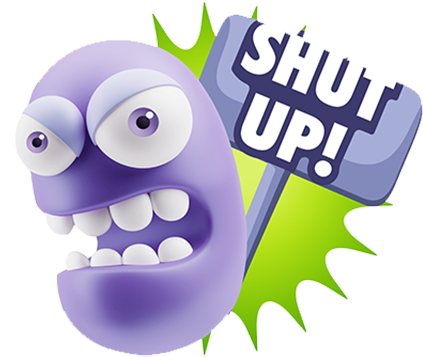 3D Bad Mood Expressions messages sticker-5