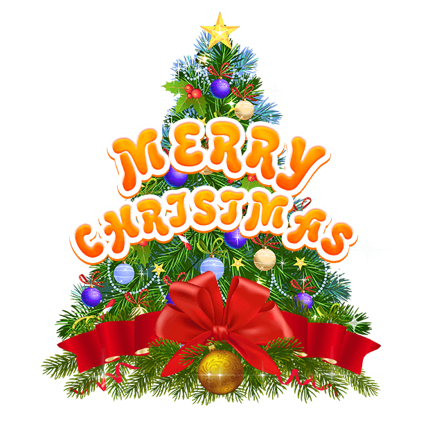 Christmas & New-Year Stickers messages sticker-0
