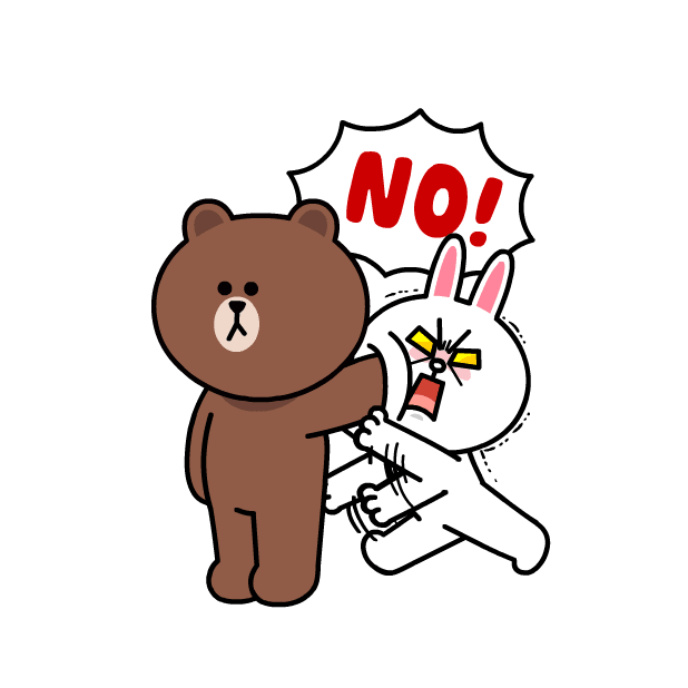 BROWN & CONY Sweet LOVE - LINE FRIENDS messages sticker-7