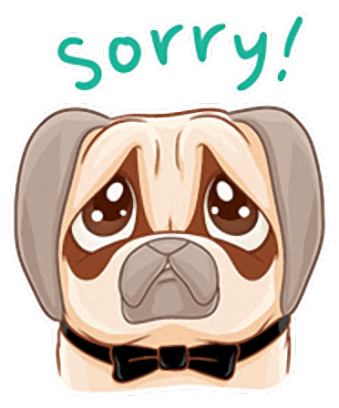 Crazy Pug - Cute dog stickers for iMessage messages sticker-3