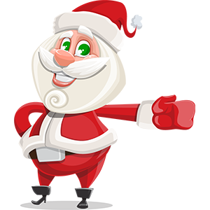 SANTAJI - Christmas Holiday Stickers for iMessage messages sticker-6