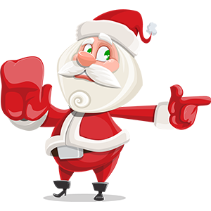 SANTAJI - Christmas Holiday Stickers for iMessage messages sticker-11