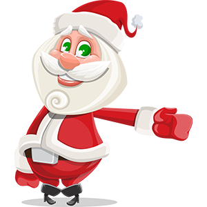 SANTAJI - Christmas Holiday Stickers for iMessage messages sticker-7