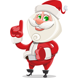 SANTAJI - Christmas Holiday Stickers for iMessage messages sticker-1