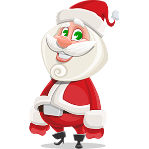 SANTAJI - Christmas Holiday Stickers for iMessage messages sticker-0