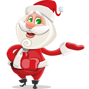 SANTAJI - Christmas Holiday Stickers for iMessage messages sticker-4