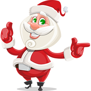 SANTAJI - Christmas Holiday Stickers for iMessage messages sticker-9