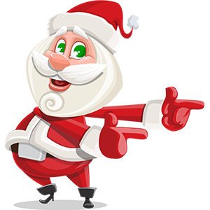 SANTAJI - Christmas Holiday Stickers for iMessage messages sticker-8