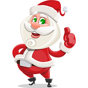 SANTAJI - Christmas Holiday Stickers for iMessage messages sticker-2