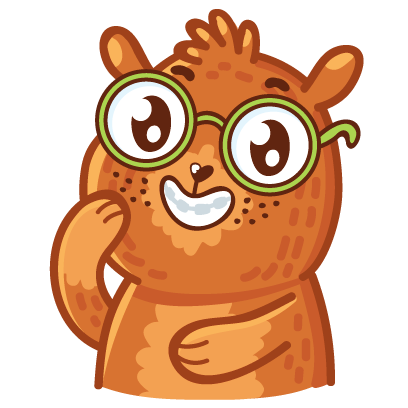 Bear stickers for iMessage messages sticker-4