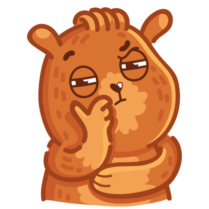 Bear stickers for iMessage messages sticker-10